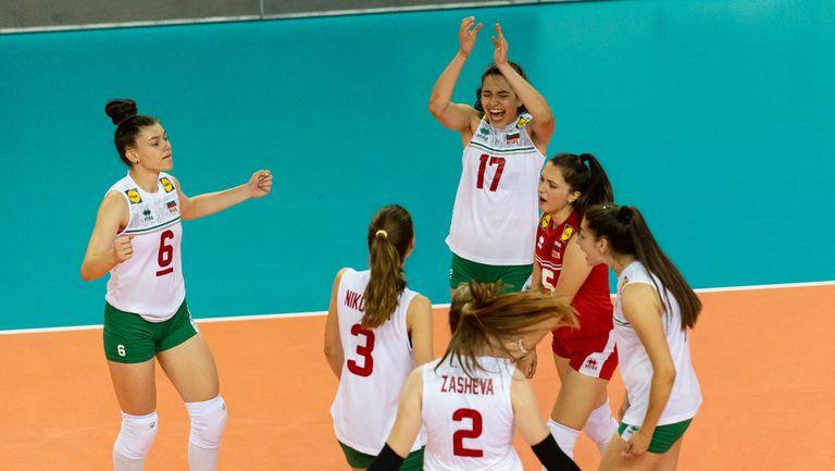 България U16 срещу Русия в полуфинал №1 на ЕвроВолей! Гледайте мача ТУК!