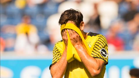 Борусия (Дортмунд) получи три гола в първата си проверка