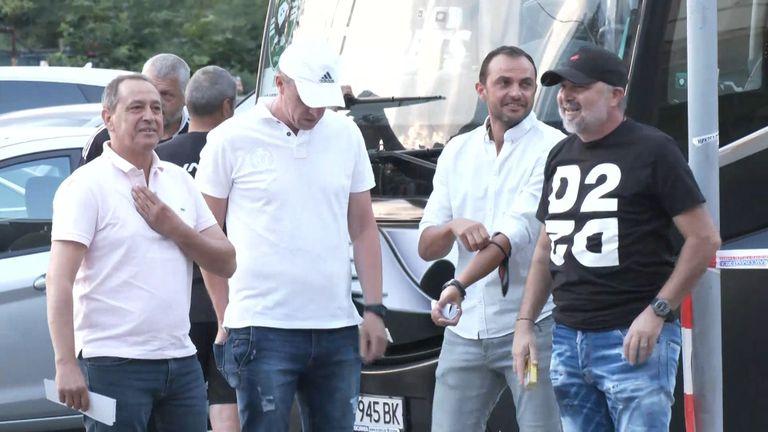 Ясен Петров доведе своя екип на мача за Суперкупата