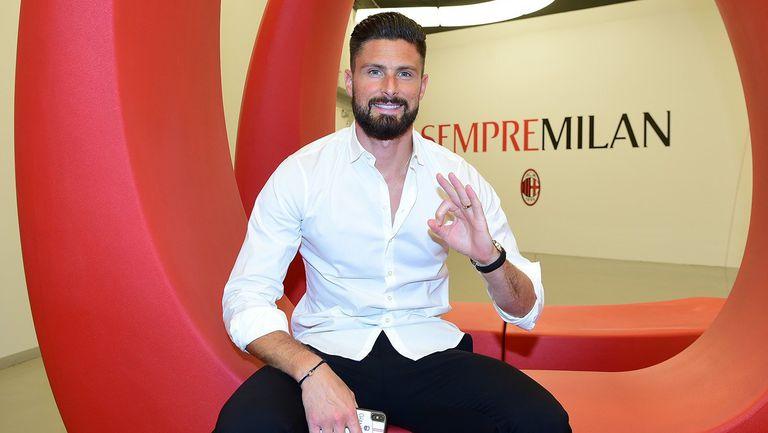 Жиру: Чувствам се като дете, искам да спечеля много трофеи с Милан