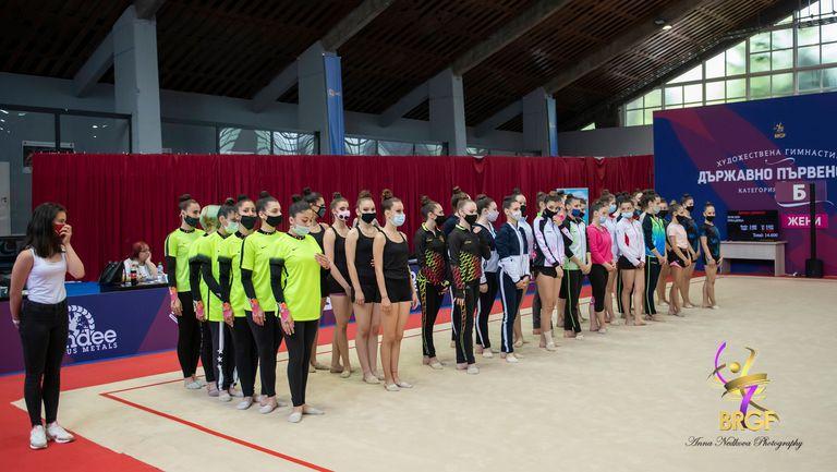 Телевизия излъчва държавното първенство по художествена гимнастика за ансамбли
