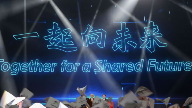 Представиха мотото на Зимните олимпийски игри в Пекин