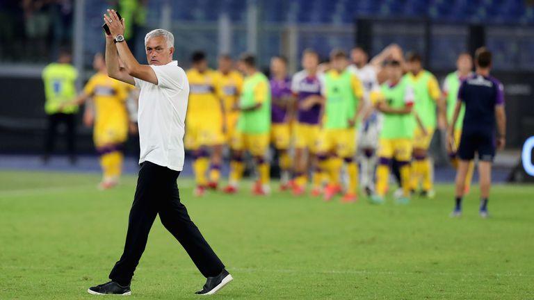 Моуриньо за един от головете на Рома: Можеш само да се усмихнеш