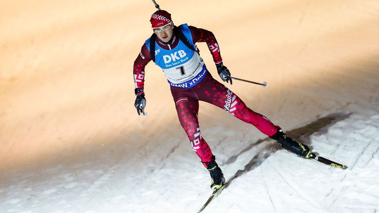Биатлонист от Латвия е наказан за 18 месеца за нарушаване на антидопинговите правила
