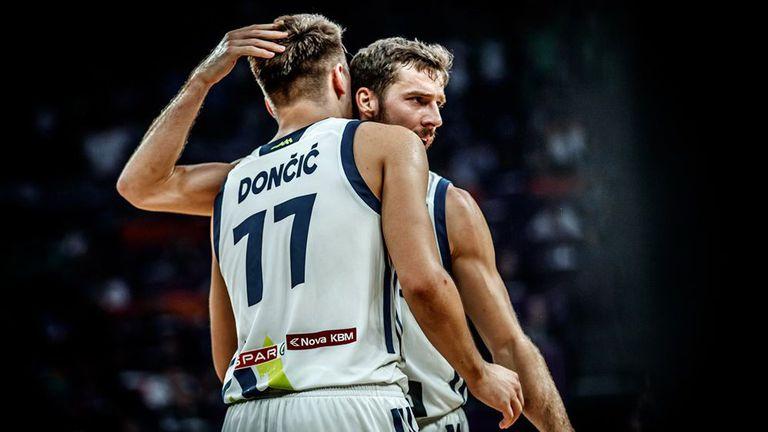 Драгич и Дончич отбелязаха годишнината от великия успех на Словения
