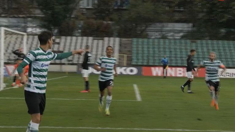 Сердюк отбеляза за Черно море и тимът поведе на Славия с 1:0