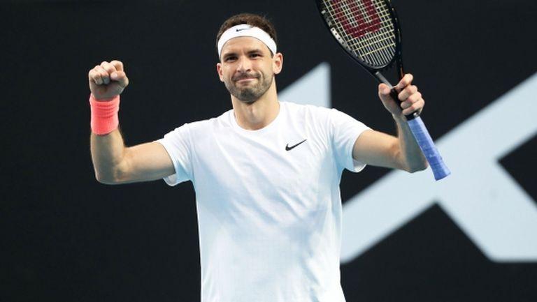 """Григор Димитров изпепели шампиона от US Open, дори му върза """"геврек""""! (видео + галерия)"""
