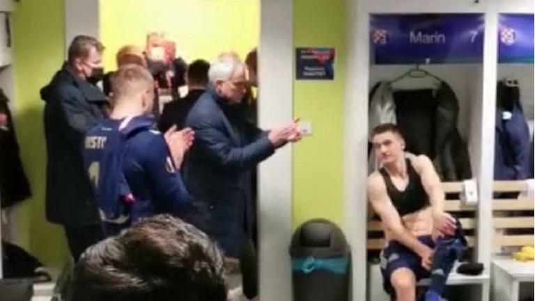 Моуриньо влезе в съблекалнята на Динамо Загреб