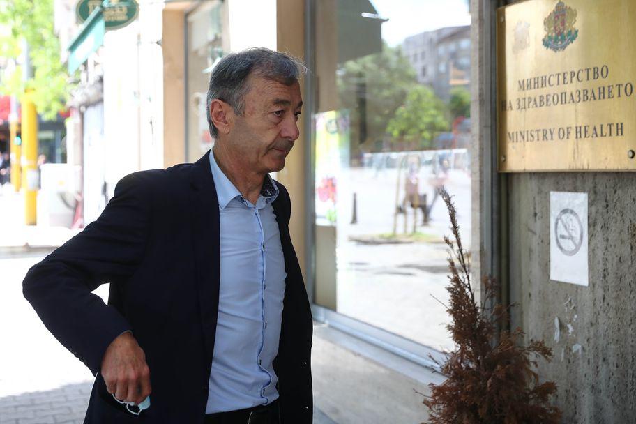 Пламен Марков и Кюстендилеца на среща със здравния министър