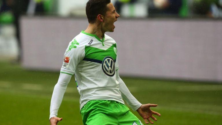 Волфсбург се завърна в играта (видео)