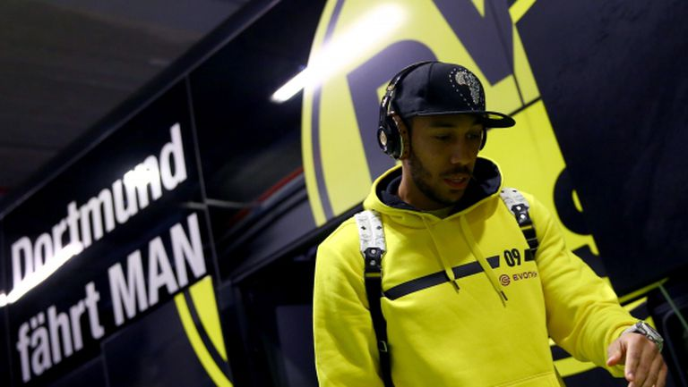 Обамеянг: За момента съм в Дортмунд