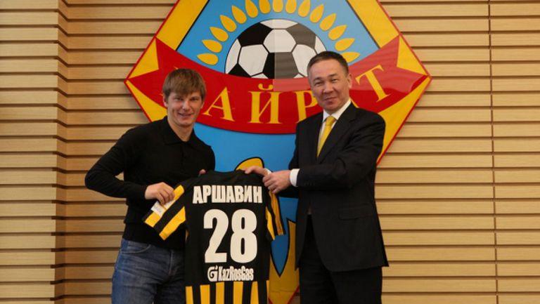Аршавин с нов отбор