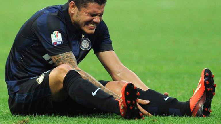Икарди аут за Рома