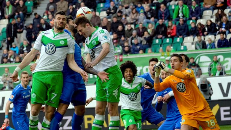 Докато мисли за Реал, Волфсбург пак се изложи (видео)