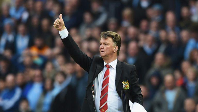 Ван Гаал видя голям шанс за топ 4 и обясни загубата на Ливърпул