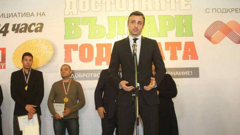 Бербатов към героите на България: Благодаря ви, че ви има!