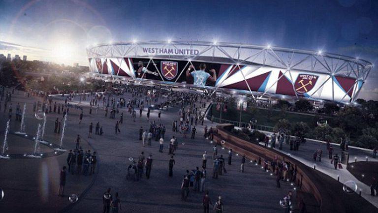 Уест Хaм увеличава капацитета на Олимпийския стадион в Лондон до 60 000 седящи места