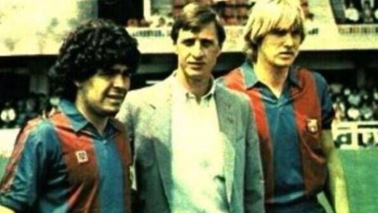 Марадона за Кройф: Никога няма да те забравим, кльощав