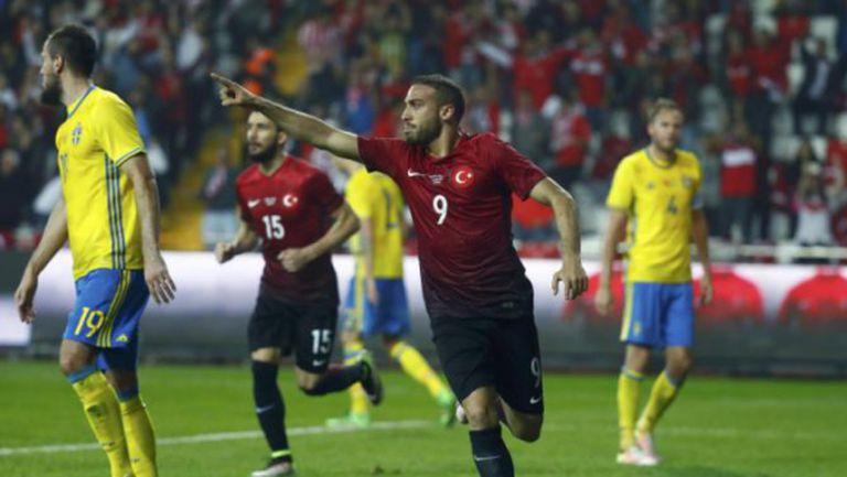 Турция надви Швеция без Ибра (видео)