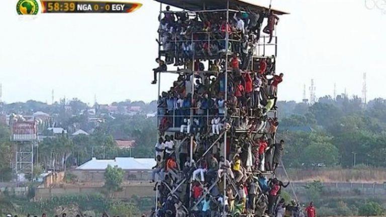 Над 40 хиляди гледаха Нигерия - Египет на стадион за два пъти по-малко зрители (снимки)