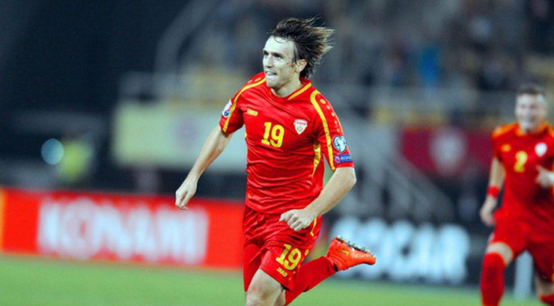 Мъри взе македонски национал в Астана
