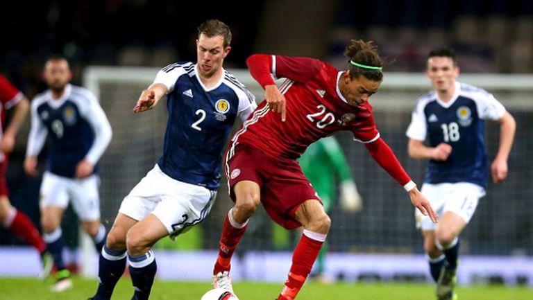 Шотландия пречупи Дания с ранен гол (видео)