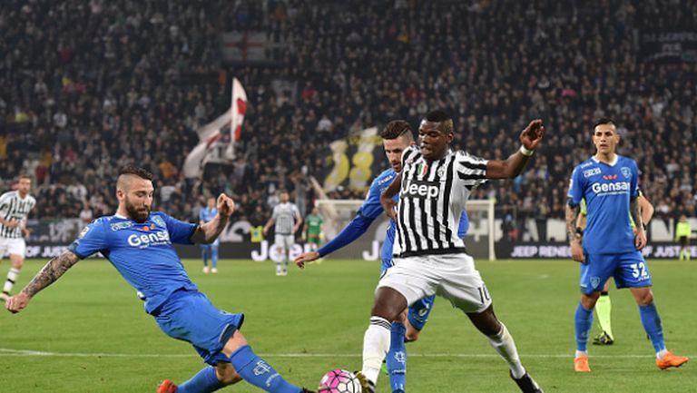 Ювентус не сбърка срещу Емполи и е с 6 точки пред Наполи (видео)