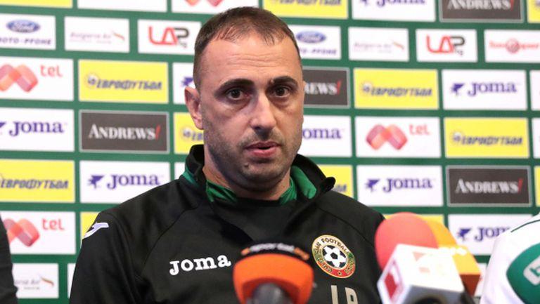 Борис Ташчи отказа да говори за националния отбор на България