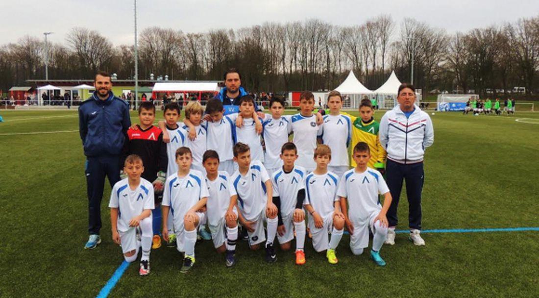 """""""Сините"""" таланти стигнаха до финалите на турнира Golden Goal в Дортмунд"""
