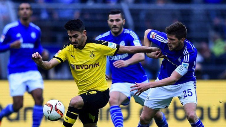 Гюндоган няма да помага на Дортмунд и утре