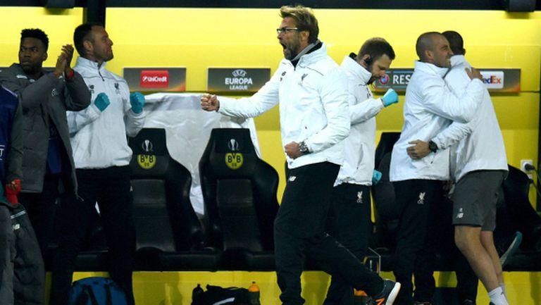 Клоп не взе всичко, но взе достатъчно при завръщането си в Дортмунд (видео)