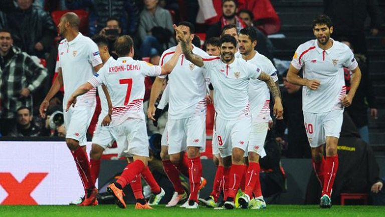 Севиля показа защо е властелинът на Лига Европа (видео)