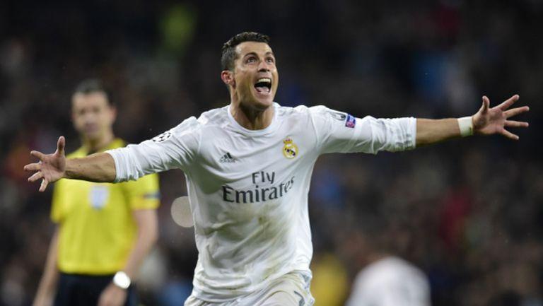 Хеттрик на Роналдо изпрати Реал на полуфинал (видео)