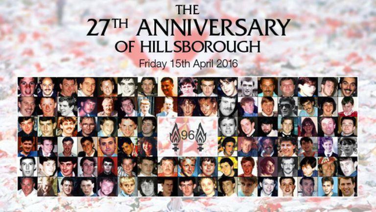 """27 години след """"Хилзбъроу"""" феновете на Ливърпул отдават последна почит към 96-те жертви (видео)"""