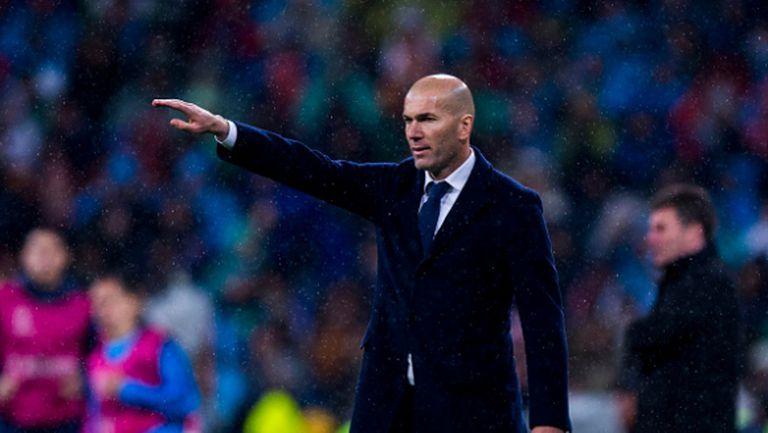 Зидан: Реал винаги е фаворит