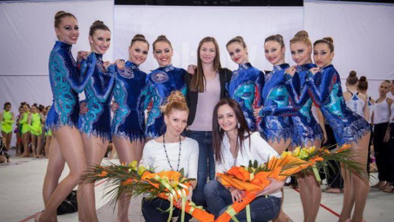 Женският отбор на България по естетическа групова гимнастика втори в квалификациите за Световната купа