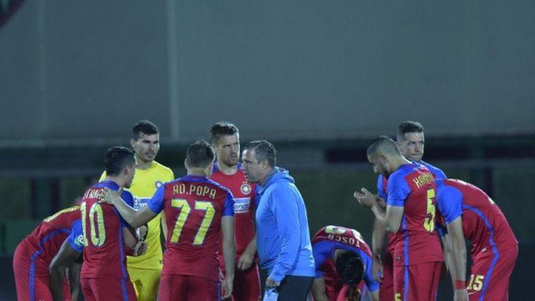 Стяуа загуби мача на истината, вкараха 6 гола на Пламен Илиев (видео)