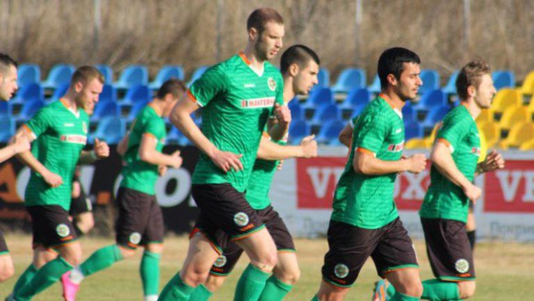 Преотстъпен от Левски с първи гол за Нефтохимик