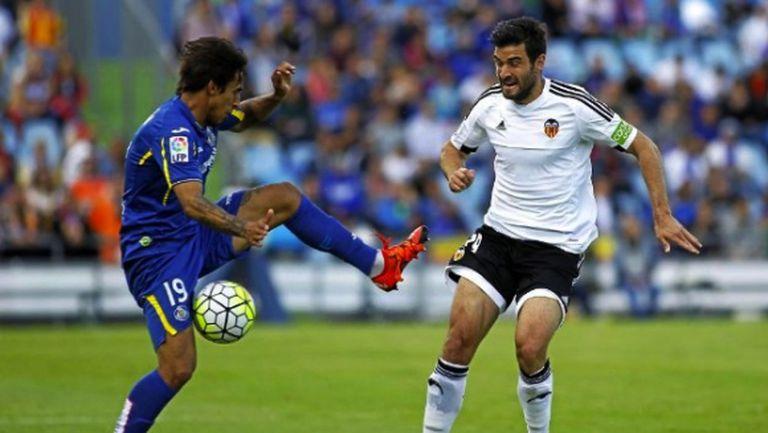 Малко не достигна на Хетафе срещу Валенсия (видео)