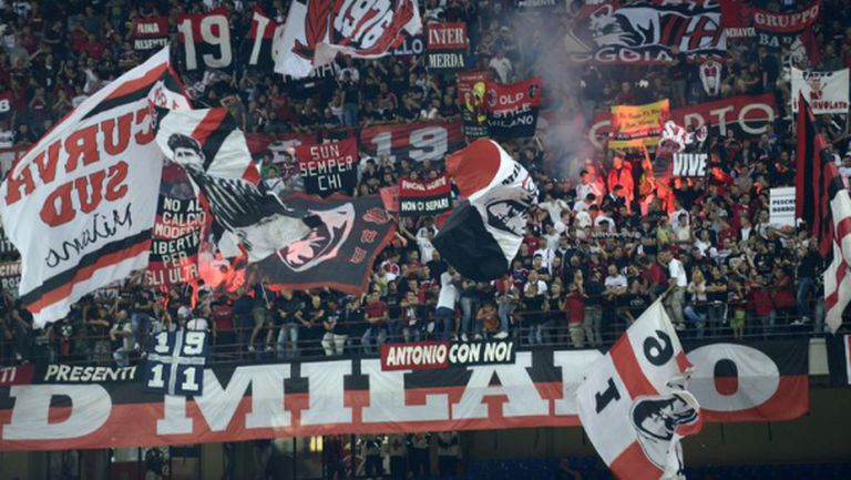 Тифозите на Милан скочиха на всички