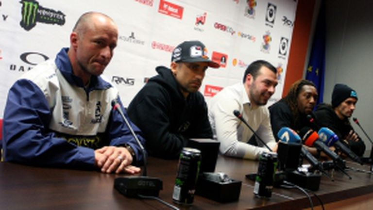 Пресконференция за предстоящото шоу по суперкрос в зала Арена Армеец - II