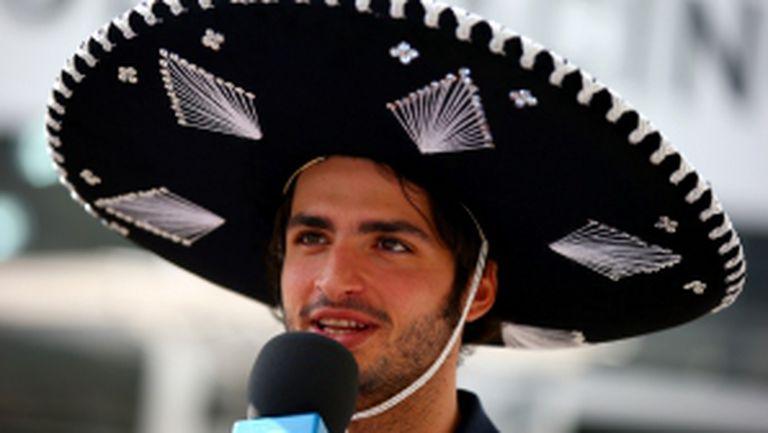 Тренировки за Гран при на Мексико