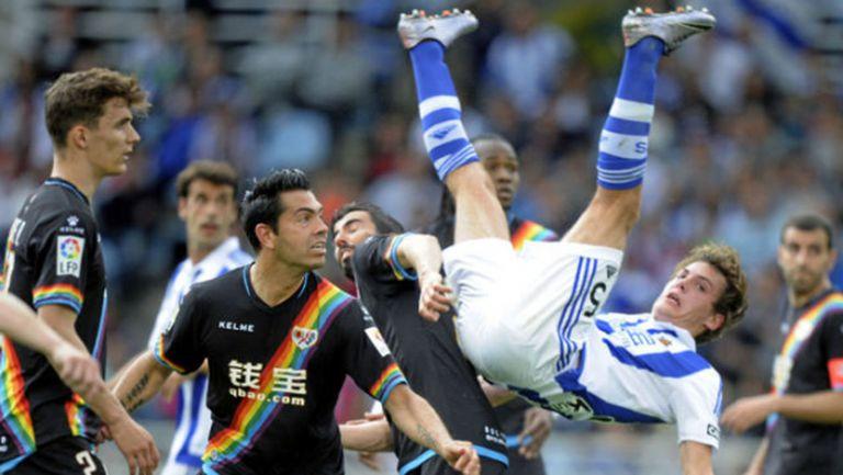 Реал Сосиедад притисна Райо до стената