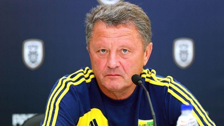 Украински треньор реже ПАОК