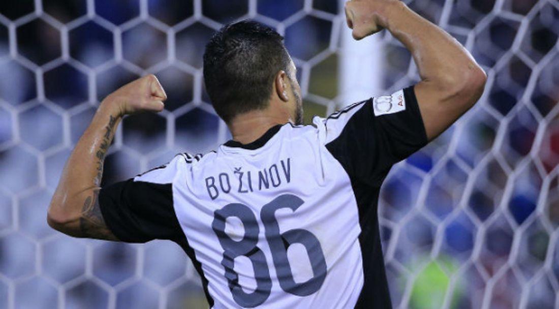 Божинов и Партизан ще спасяват сезона на историческа дата