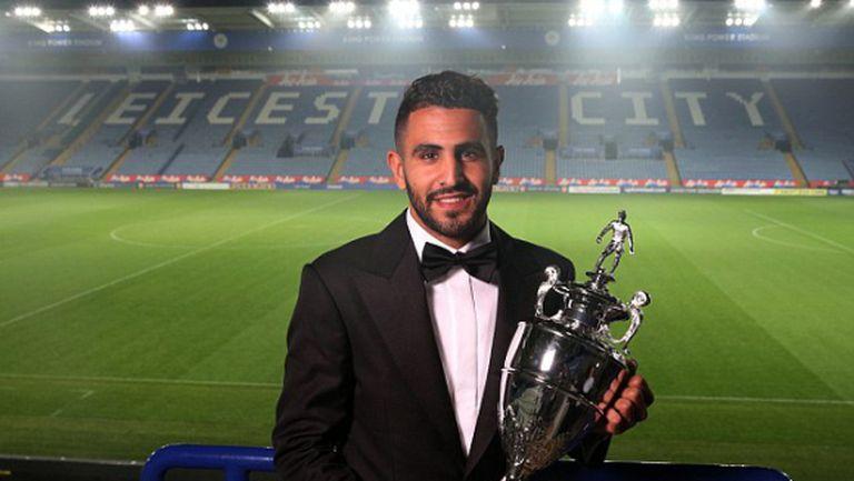 Марез избран на Футболист на сезона на шампиона Лестър в анкетата на феновете