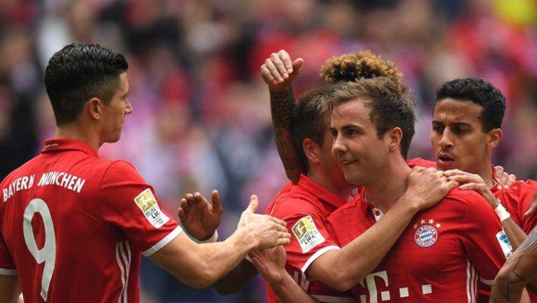 Гуардиола се сбогува с Мюнхен с 3:1 (видео + галерия)
