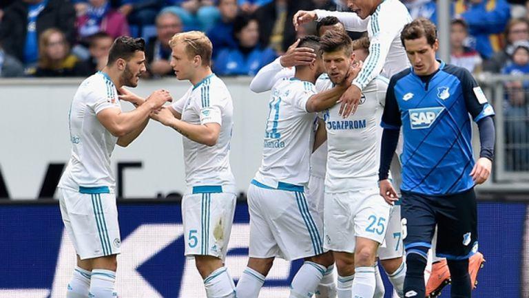 Шалке влезе в групите на Лига Европа (видео)