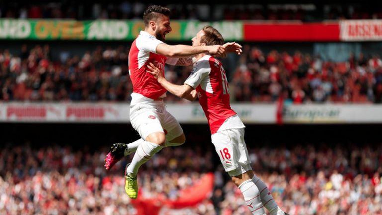 Nihil novi: Накрая Арсенал отново е пред Тотнъм (видео)