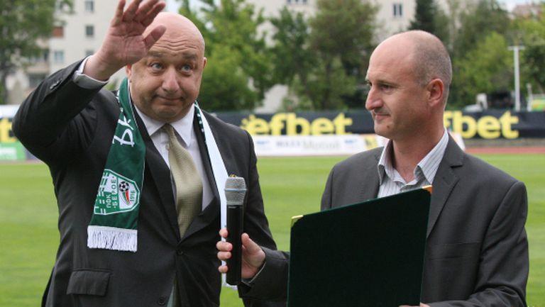 Министър Кралев: Благодаря на Берое за всички футболисти, които е дал на България